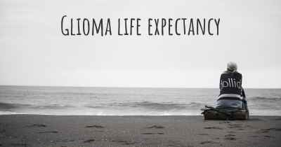 Glioma life expectancy