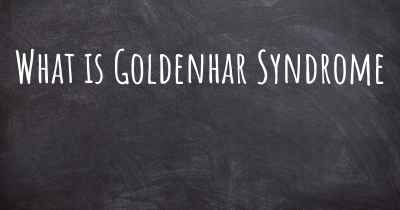 What is Goldenhar Syndrome