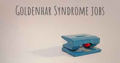Goldenhar Syndrome jobs
