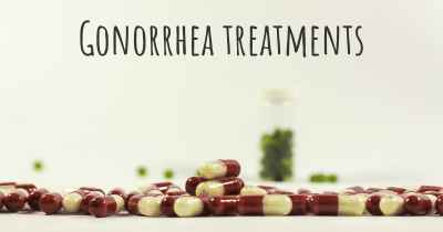 Gonorrhea treatments