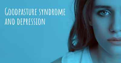 Goodpasture syndrome and depression
