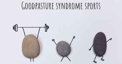 Goodpasture syndrome sports