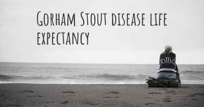 Gorham Stout disease life expectancy
