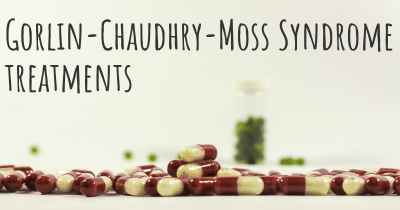 Gorlin-Chaudhry-Moss Syndrome treatments