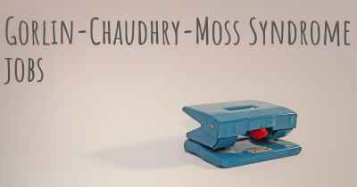 Gorlin-Chaudhry-Moss Syndrome jobs