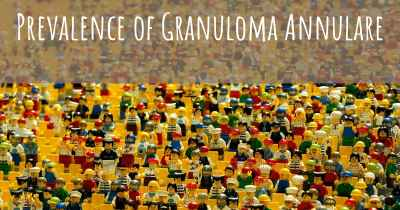 Prevalence of Granuloma Annulare