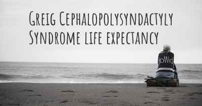 Greig Cephalopolysyndactyly Syndrome life expectancy