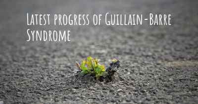 Latest progress of Guillain-Barre Syndrome