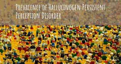 Prevalence of Hallucinogen Persistent Perception Disorder