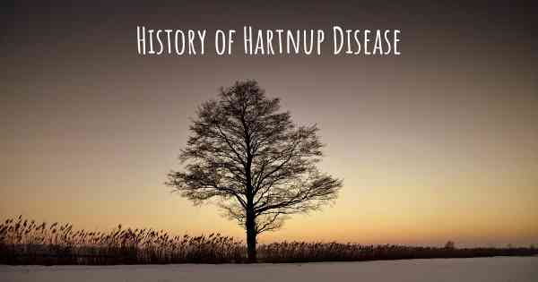 History of Hartnup Disease
