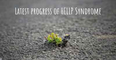 Latest progress of HELLP Syndrome