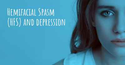 Hemifacial Spasm (HFS) and depression