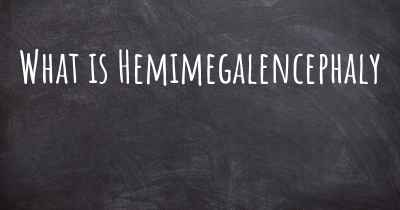 What is Hemimegalencephaly