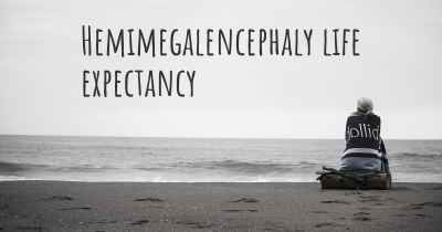 Hemimegalencephaly life expectancy