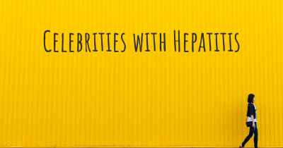 Celebrities with Hepatitis