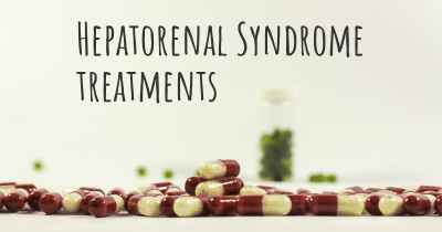Hepatorenal Syndrome treatments