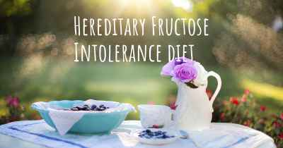Hereditary Fructose Intolerance diet