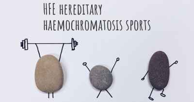 HFE hereditary haemochromatosis sports