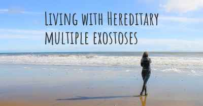 Living with Hereditary multiple exostoses