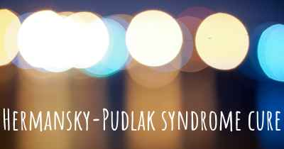 Hermansky-Pudlak syndrome cure