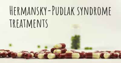 Hermansky-Pudlak syndrome treatments