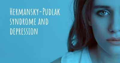 Hermansky-Pudlak syndrome and depression