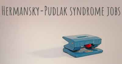 Hermansky-Pudlak syndrome jobs