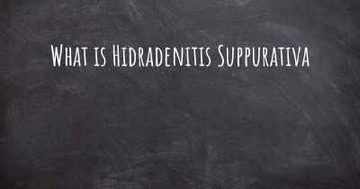 What is Hidradenitis Suppurativa