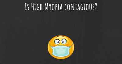 Is High Myopia contagious?