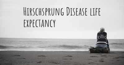 Hirschsprung Disease life expectancy
