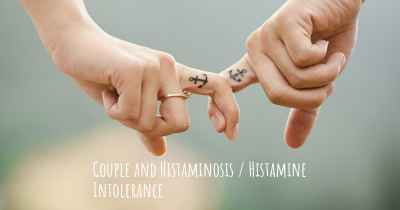 Couple and Histaminosis / Histamine Intolerance