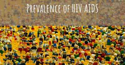 Prevalence of HIV AIDS