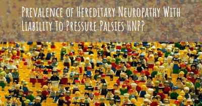 Prevalence of Hereditary Neuropathy With Liability To Pressure Palsies HNPP