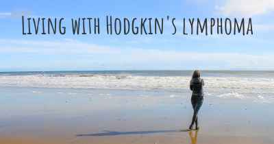 Living with Hodgkin's lymphoma