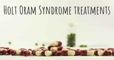 Holt Oram Syndrome treatments