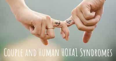 Couple and Human HOXA1 Syndromes