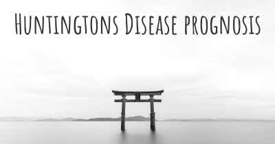 Huntingtons Disease prognosis