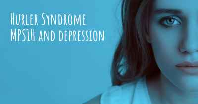 Hurler Syndrome MPS1H and depression