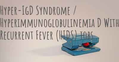 Hyper-IgD Syndrome / Hyperimmunoglobulinemia D With Recurrent Fever (HIDS) jobs