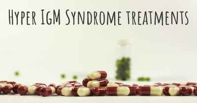 Hyper IgM Syndrome treatments