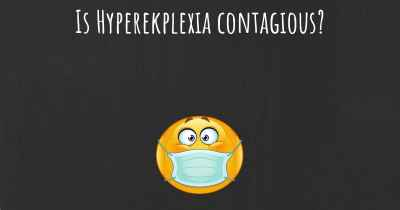 Is Hyperekplexia contagious?