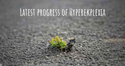 Latest progress of Hyperekplexia