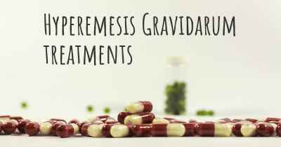 Hyperemesis Gravidarum treatments