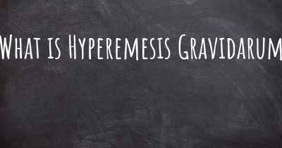 What is Hyperemesis Gravidarum