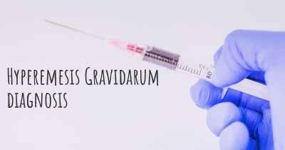 Hyperemesis Gravidarum diagnosis