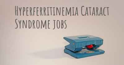 Hyperferritinemia Cataract Syndrome jobs