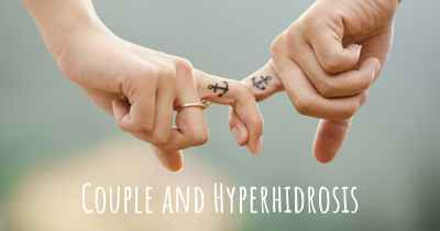 Couple and Hyperhidrosis