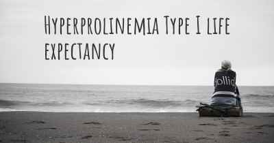 Hyperprolinemia Type I life expectancy