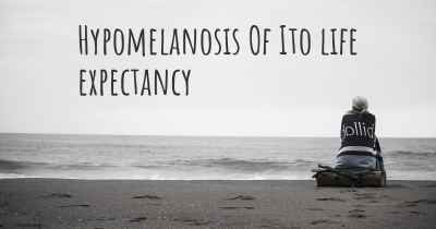 Hypomelanosis Of Ito life expectancy