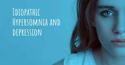 Idiopathic Hypersomnia and depression